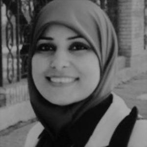 أمل صقر - صحافية فلسطينية