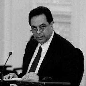 رئيس الحكومة السابق حسان دياب