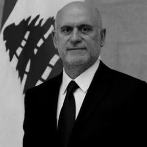 وزير الأشغال في الحكومة السابقة يوسف فنيانوس