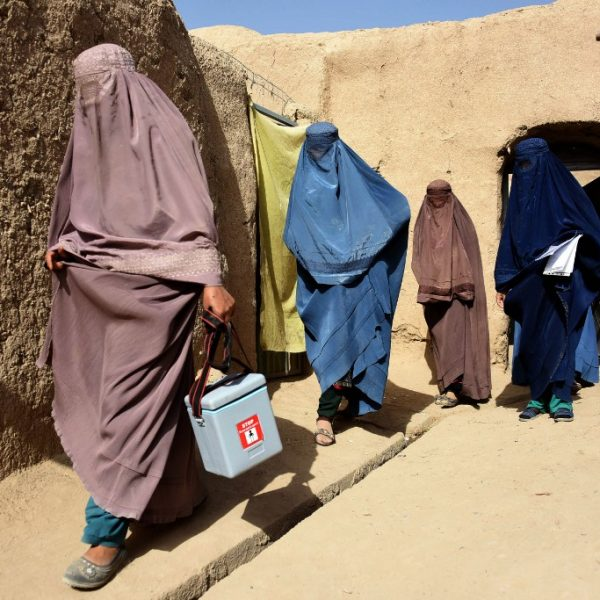 AFGHANISTAN-POLIO-VACCINATION