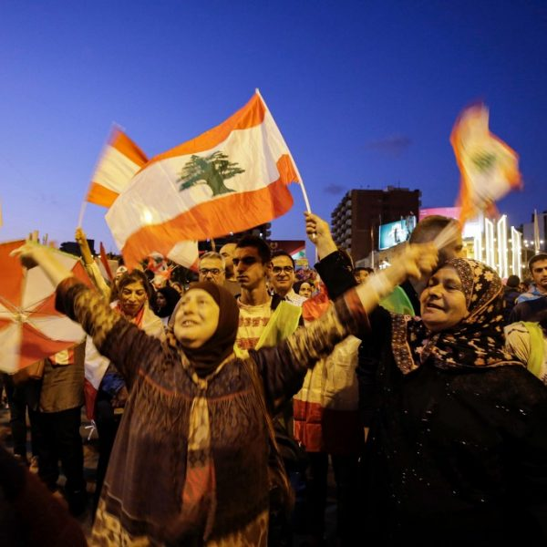 LEBANON-POLITICS-DEMO