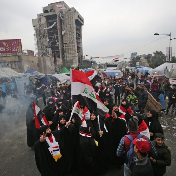 IRAQ-POLITICS-PROTEST