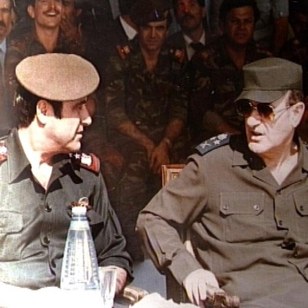SYRIA-ASSAD BROTHERS