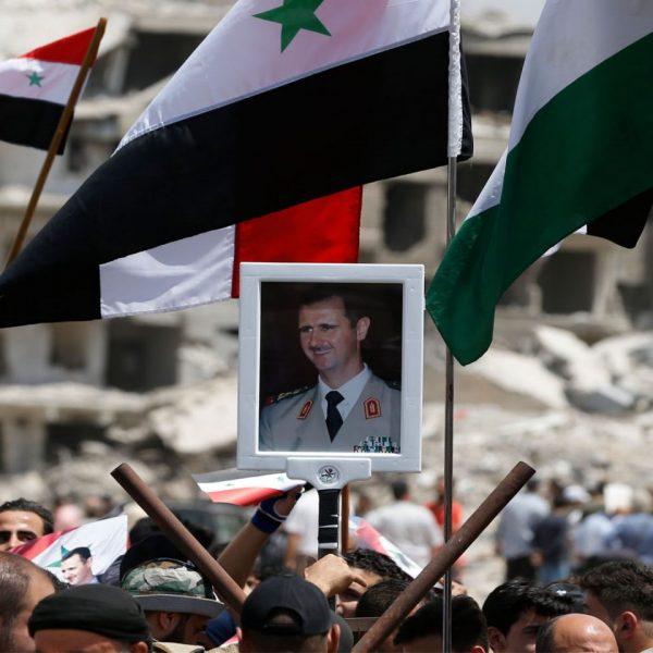 building syria