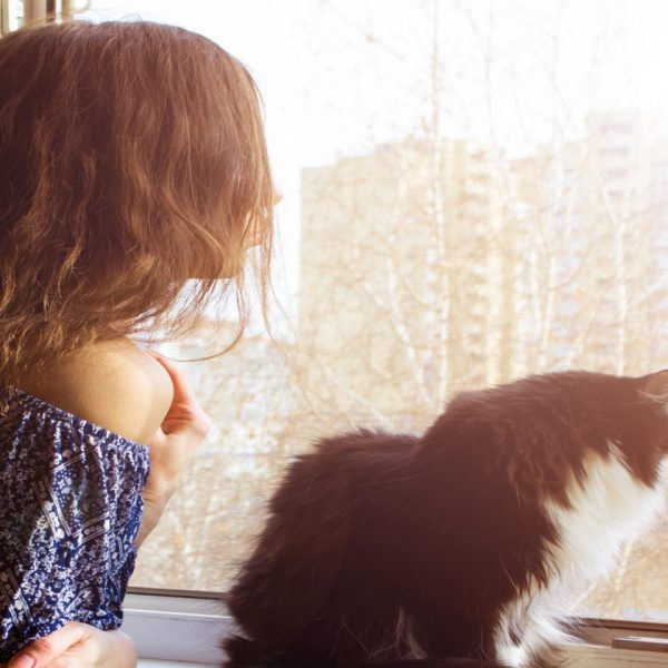 lady-and-cat-