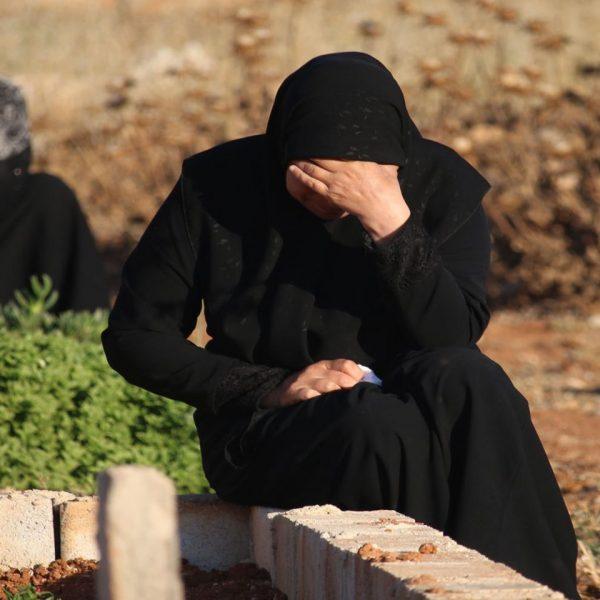 syrian grave