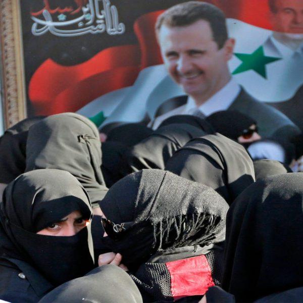 women of syria